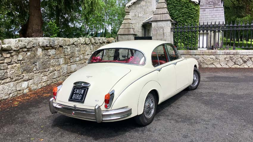 SNOWBIRD 1961 MK II JAGUAR WEDDING CAR (21 PHOTOS)